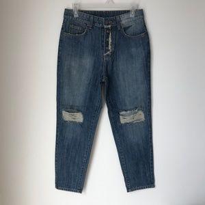 [LF] Carmar Josh Distressed Denim Jeans
